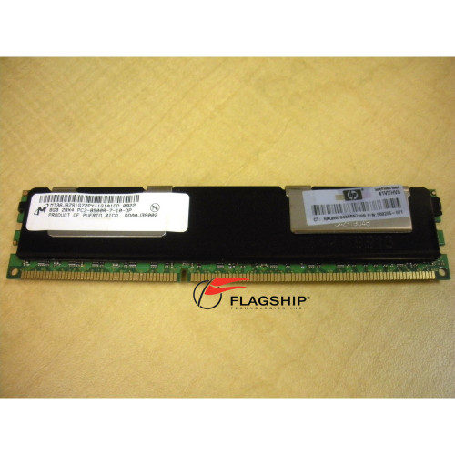 HP 516423-B21 519201-001 500206-071 8GB (1x8GB) 4Rx4 DDR3 PC3-8500R-7 Memory Kit