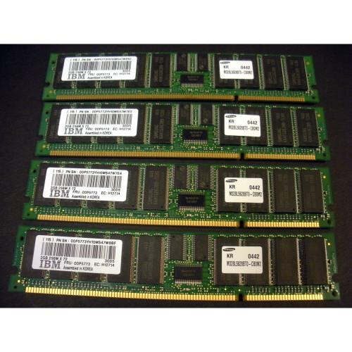 IBM 4449-9406 8GB (4x 2GB) Memory Kit 12R9257 00P5773 30D5 via Flagship Tech