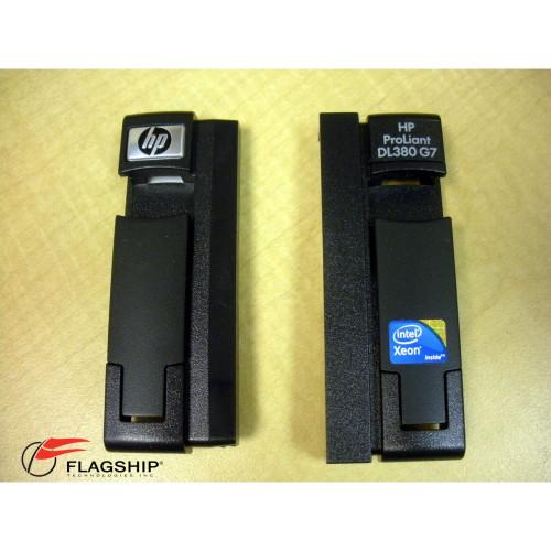 HP 496080-001 DL380 G7 Left and Right Bezel Ear Kit