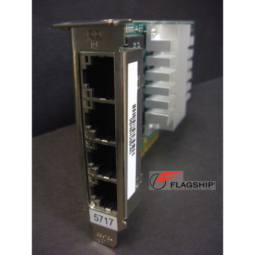 IBM 5271 74Y2116 46Y3512 4-Port 10/100/1000 Base-TX PCIe Low Profile Adapter