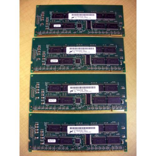 Sun X7062A 2GB (4x 512MB) Memory Kit 501-6174 for Netra 20 Blade 1000 2000 280R via Flagship Tech