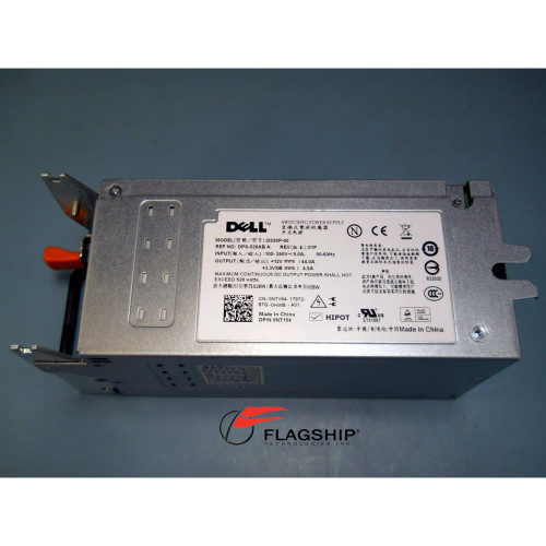 DELL NT154 T300 528W POWER SUPPLY