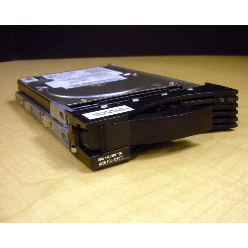IBM 32P0731 146GB 10K U320 SCSI 3.5in Hard Drive w/Tray via Flagship Tech