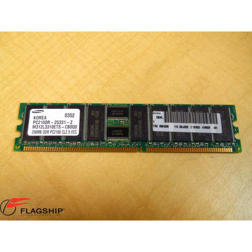 IBM 09N4306 256MB PC2100 DDR ECC MEMORY DIMM IT Hardware via Flagship Technologies, inc, Flagship Tech, Flagship, Tech, Technology, Technologies