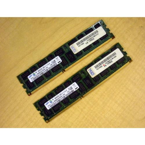 IBM 4527-82XX 16GB 2x 8GB Memory Kit PC3-8500 77P8632 via Flagship Tech