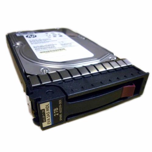 HP AW590A 602119-001 2TB 7.2K 6G DP SAS LFF Hard Drive M6612