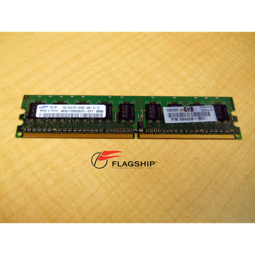 HP 444908-051 1GB 2RX8 DDR2 PC2-6400E MEMORY DIMM