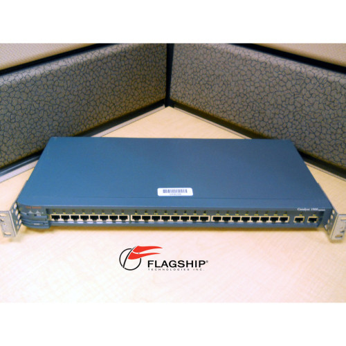 CISCO WS-C1924EN SWITCH 24P 10B-T 2P 100