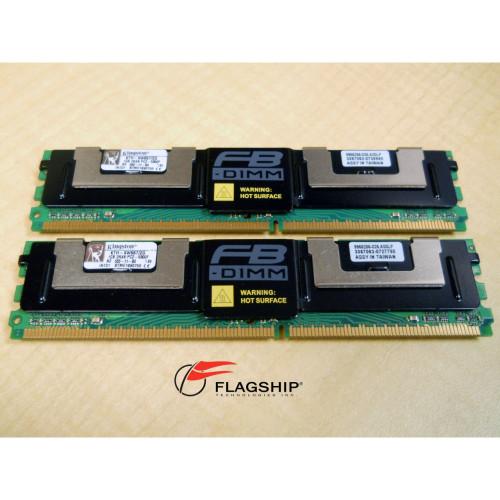 Kingston KTH-XW667/2G 2GB PC2-5300 FBD Memory Kit 2X1GB IT Hardware via Flagship Technologies, Inc, Flagship Tech, Flagship