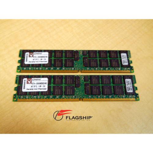 KINGSTON KTH-XW9400K2/4G 4GB PC2-5300 MEMORY KIT (2X2GB)