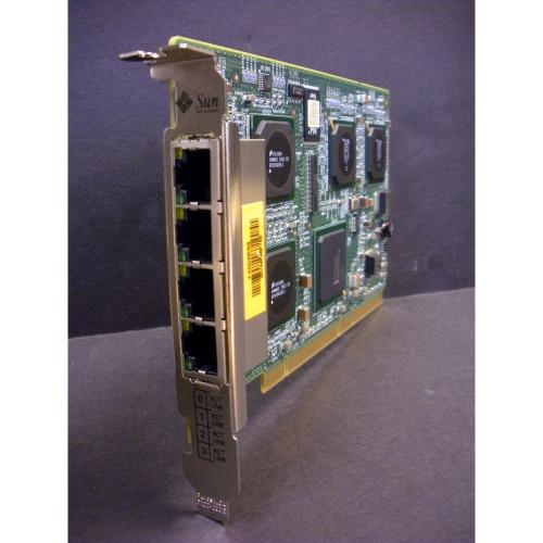 Sun 501-6738 X4445A Quad Port GigaSwift Ethernet UTP PCI-X via Flagship Tech