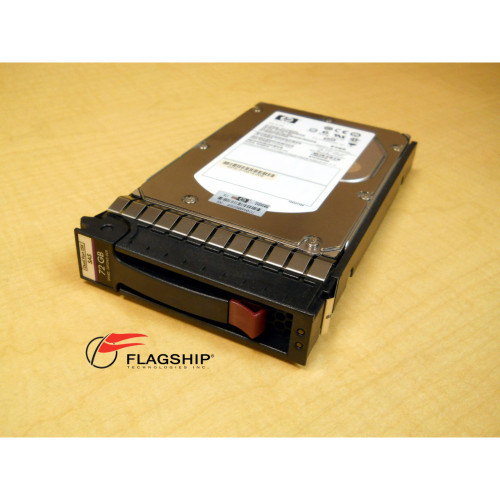 HP 389343-001 72GB 3G SAS 15K DUAL PORT LFF 3.5 INCH HDD