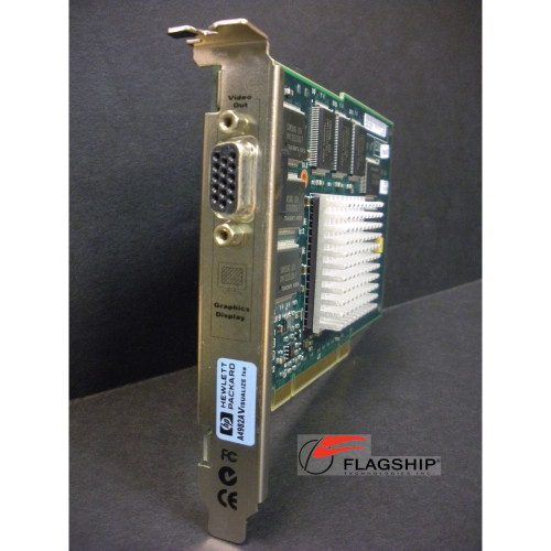 HP A4982A VISUALIZE HP-UX 2D/3D GRAPHICS CARD via Flagship Tech