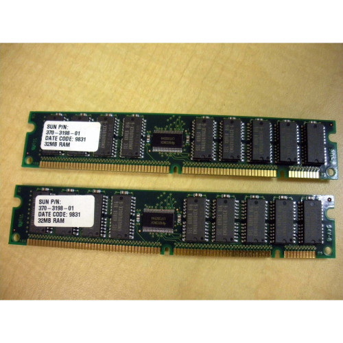 Sun X7030A 64MB (2x 32MB) Memory Kit 370-3198 for Ultra 5 10 via Flagship Tech