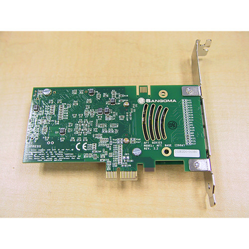 Sangoma A102-X PCI-e Dual Port Data/Voice T1/E1/J1 Card top