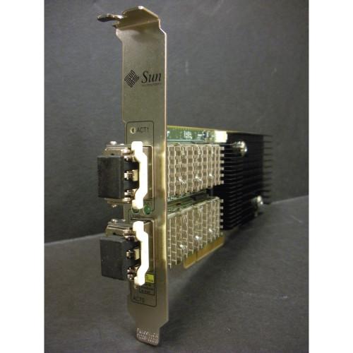 Sun 7054890 10Gb Dual PCI-E Ethernet Card with 2x 10Gb Transceivers 7058828 via Flagship Tech