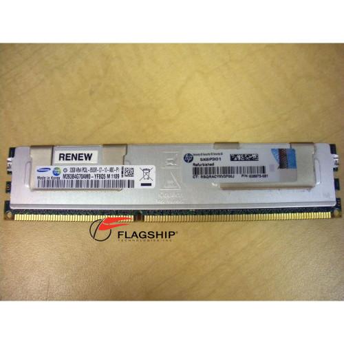 HP 627814-B21 632205-001 628975-081 32GB (1x 32GB) 4Rx4 PC3L-8500R LP Memory Kit