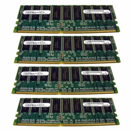 HP A9909A Memory Kit 2GB DDR SDRAM 4x 512MB