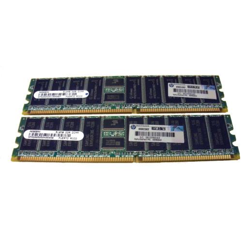 HP AB222A RX1600 1GB SDRAM 2 x 512MB Memory