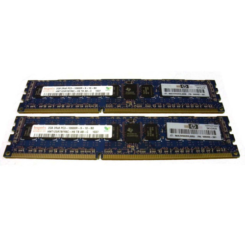 HP AM229A 4GB 2X 2GB PC3-10600R-9 Memory Kit via Flagship Tech