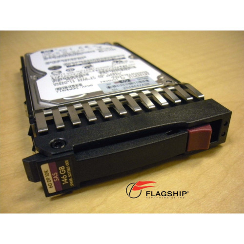 HP 507125-B21 507283-001 146GB 10K 6G DP SAS SFF Hard Drive