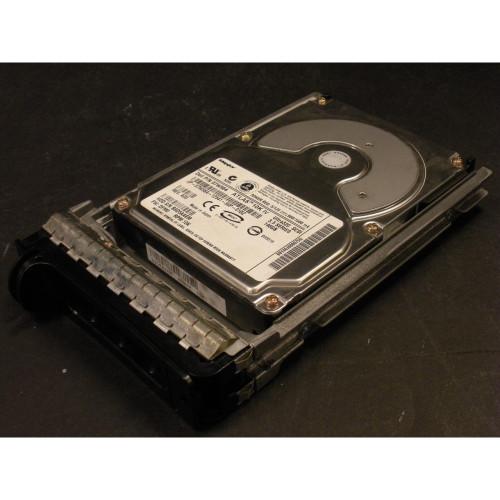 146GB 10K U320 SCSI 80Pin Hard Drive & Tray 7W584 Dell Maxtor Atlas Photo 1