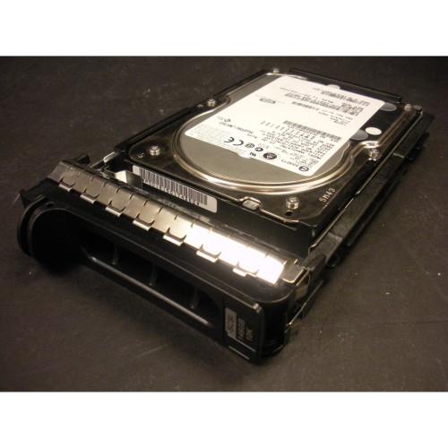 146GB 10K U320 SCSI 80Pin Hard Drive & Tray GC826 MAW3147NC Dell Fujitsu Photo 1