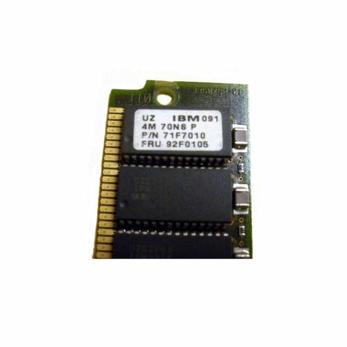 IBM 4002-701X 71F7010 92F0105 4MB (1x 4MB) Memory SIMM