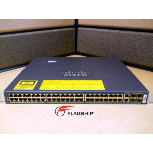 Cisco WS-C4948-S Catalyst 4948 IP Base AC Power