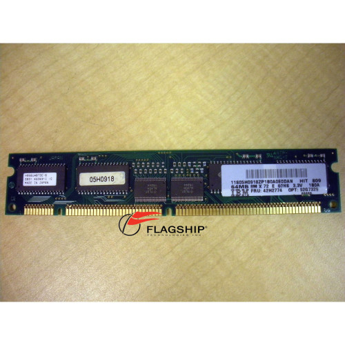 IBM 4114-701X 05H0918 42H2774 64MB Memory DIMM for 7043