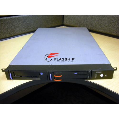 IBM 4214-1U2 Tape and DVD Enclosure with 1420 DVD-RAM 1404 LTO-4