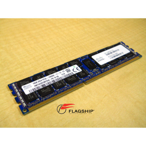 CISCO UCS-MR-1X162RY-A 16GB DDR3-1600MHZ PC3L-12800R 2Rx4 1.35V RDIMM MEMORY