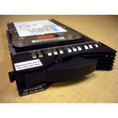 IBM 90P1322 26K5141 73.4GB 15K U320 SCSI Hard Drive via Flagship Tech