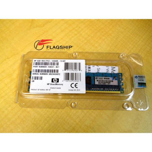 HP *SEALED* 715272-001 4GB PC3-14900R-13 SINGLE RANK DIMM