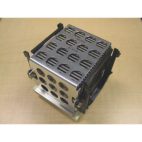 Dell 8Y125 PowerEdge 2650 533MHz Heatsink Assembly and Clips