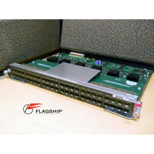Cisco WS-X4448-GB-SFP Catalyst 4500 48 Port SFP Gigabit Ethernet Module GigE IT Hardware via Flagship Technologies, Inc, Flagship Tech, Flagship, Tech, Technology, Technologies