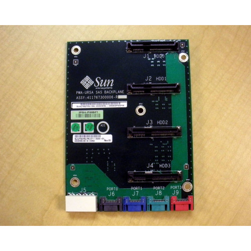 Sun 371-3630 Oracle 4-Slot Disk Backplane via Flagship Tech