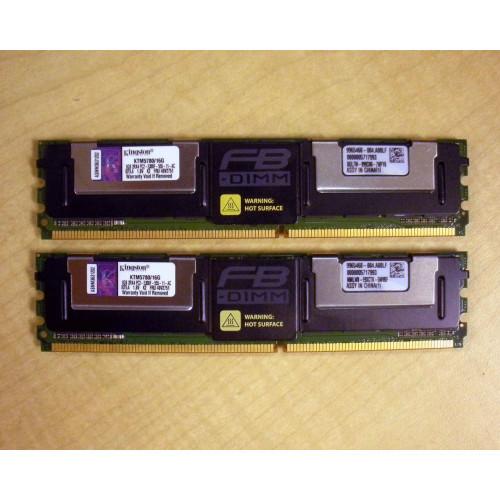 IBM 40V2751 SDRAM 16GB 2X8GB PC2-5300 DDR2 VIA FLAGSHIP TECH