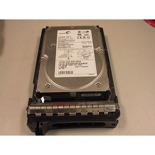 146GB 10K U320 SCSI 80Pin Hard Drive Dell GC828 Seagate ST3146707LC