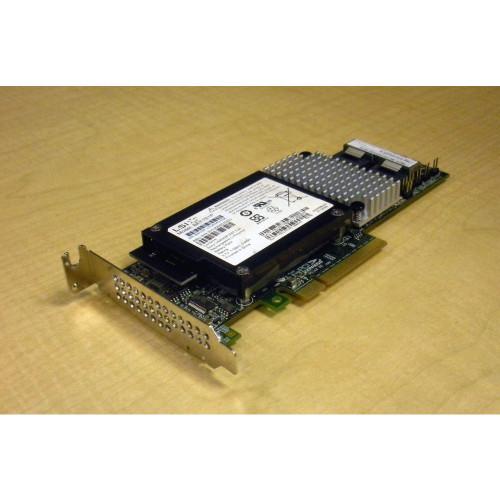 Sun 375-3644 SAS-2 8-port 6GB PCI-E Raid HBA Adapter w/ 371-4746 Battery via Flagship Tech
