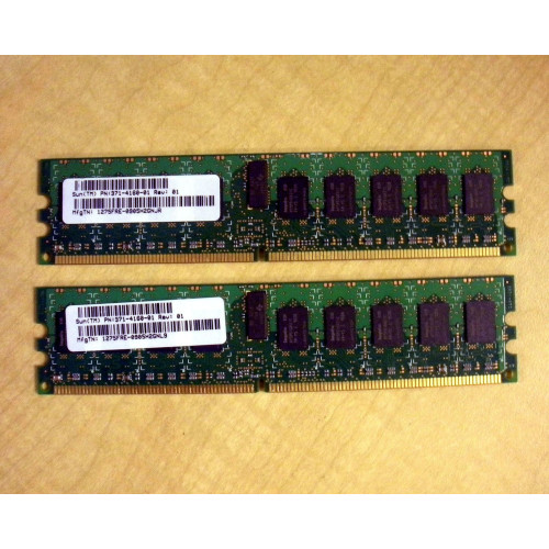 Sun X8123A-C-Z 4GB DDR2-667 Memory Kit 2x 371-4161 via Flagship Tech