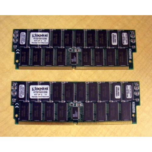 Sun X7004A 3rd Party 256MB Memory Kit 2x 128MB 501-3136 via Flagship Tech