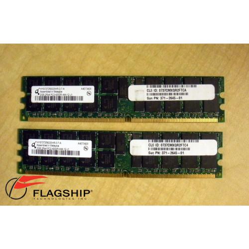 Sun X5723A 4GB Kit 2x 2GB 371-2645