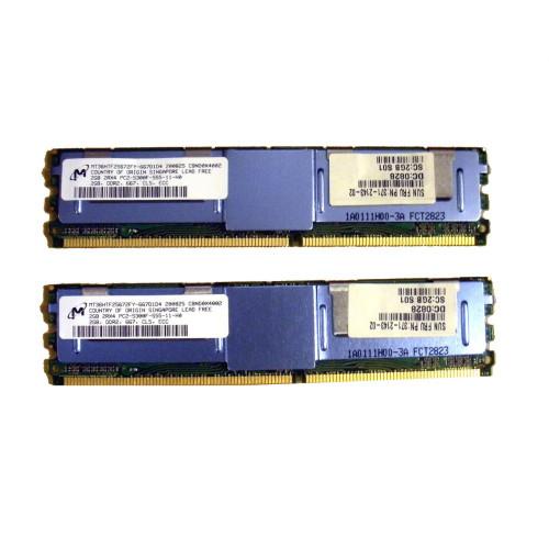 Sun X4203A 4GB Memory Kit 2 x 2GB 371-2143 via Flagship Tech