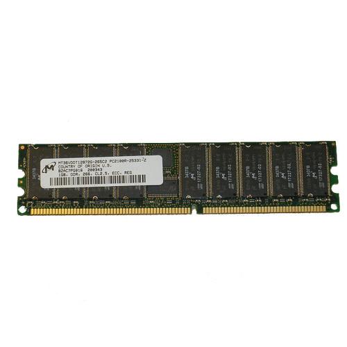 Dell 9U175 Memory 1GB PC2100 266MHZ ECC Registered Dimm