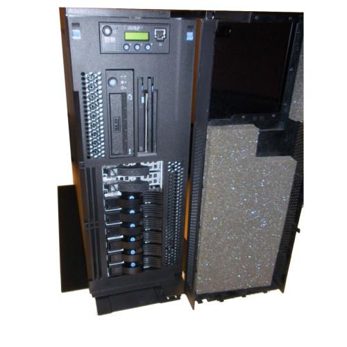 IBM Server 9406-520 0900 7450 Power5 1.5GHz, 4GB, 4x 36GB, 30GB Tape, 5709 RAID, OS 6.1 via Flagship Tech