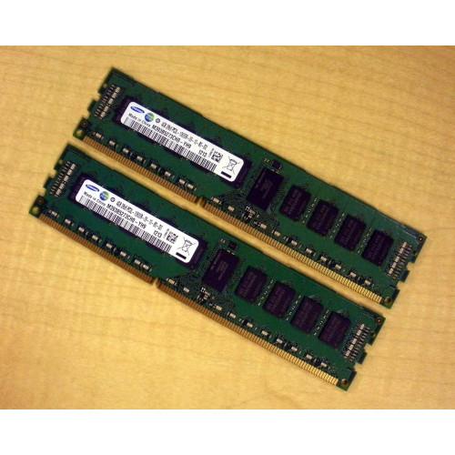 Sun 7100155 2x 4GB DDR3-1333 RDIMM PC3-10600 1.35V Dual Rank via Flagship Tech
