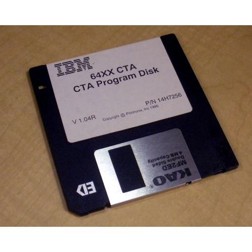 IBM 14H7256 64XX CTA Program Diskette V1.04R via Flagship Tech