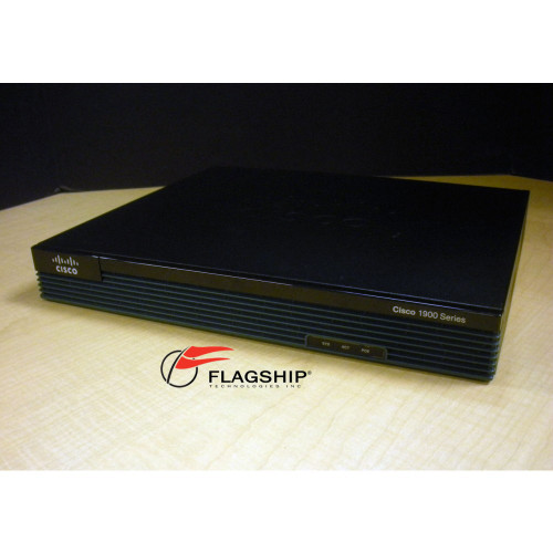 Cisco CISCO1921-SEC/K9 1921 Router w/2 Onboard GE 256MB Flash 512MB DRAM via Flagship Technologies, Inc - Flagship Tech