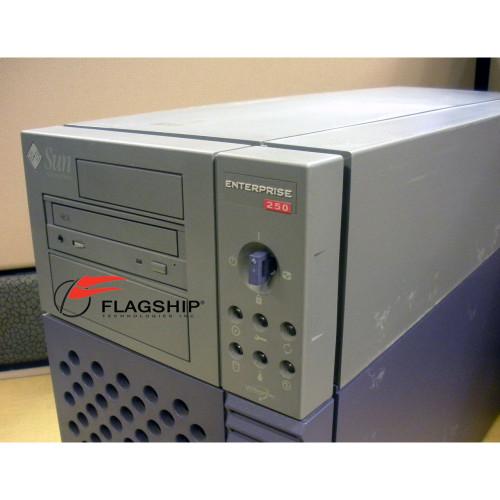 Sun E250 Enterprise Deskside Base 400Mhz 1GB RAM 18GB IT Hardware via Flagship Technologies, Inc, Flagship Tech, Flagship